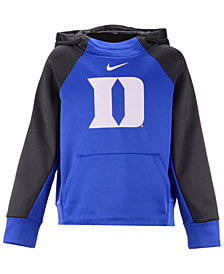 Nike Duke Blue Devils Therma Color Block Hoodie, Big Boys (8-20)