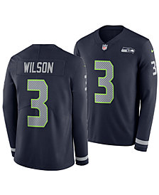 Nike Men's Russell Wilson Seattle Seahawks Therma Jersey