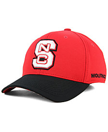 adidas North Carolina State Wolfpack Coaches Flex Stretch Fitted Cap 2018