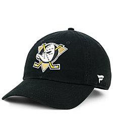 Authentic NHL Headwear Anaheim Ducks Fan Relaxed Adjustable Strapback Cap