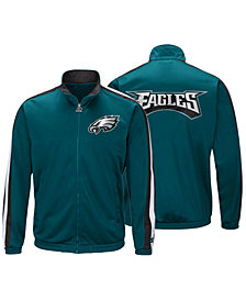 Starter Men's Philadelphia Eagles The Challenger Track Jacket