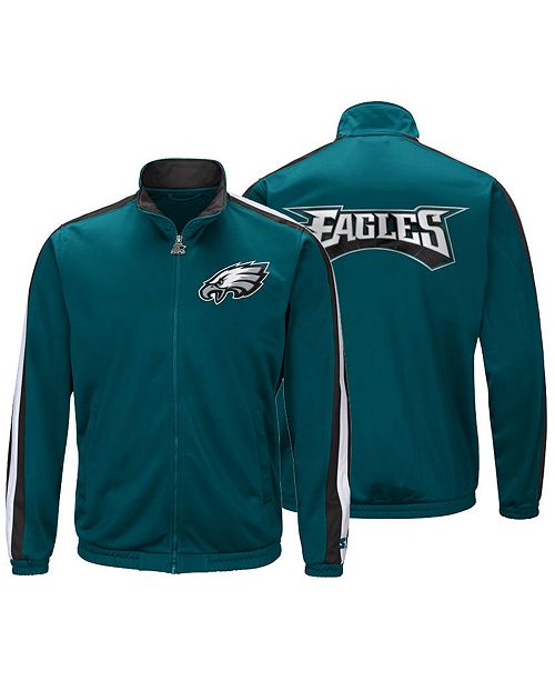 ... Starter Men s Philadelphia Eagles The Challenger Track Jacket ... 82a78b458