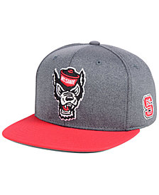 adidas North Carolina State Wolfpack Stadium Performance Snapback Cap