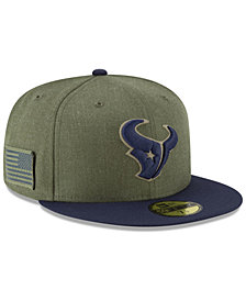 New Era Houston Texans Salute To Service 59FIFTY FITTED Cap