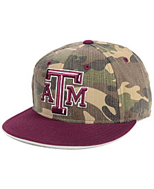 adidas Texas A&M Aggies Stadium Performance Camo Fitted Cap
