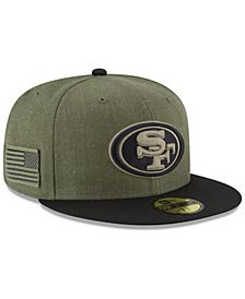 New Era San Francisco 49ers Salute To Service 59FIFTY FITTED Cap