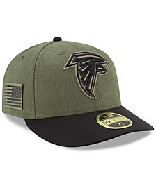 New Era Atlanta Falcons Salute To Service Low Profile 59FIFTY Fitted Cap 2018