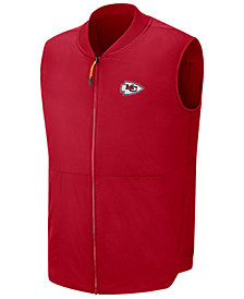 Nike Men's Kansas City Chiefs Sideline Coaches Vest
