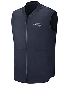 Nike Men's New England Patriots Sideline Coaches Vest