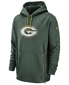Nike Men's Green Bay Packers Sideline Player Therma Hoodie