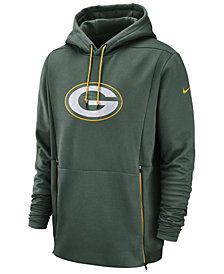 Nike Men's Green Bay Packers Sideline Player Therma Hoodie
