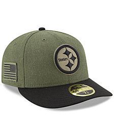 New Era Pittsburgh Steelers Salute To Service Low Profile 59FIFTY Fitted Cap 2018