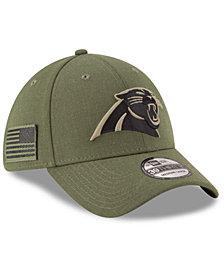 New Era Carolina Panthers Salute To Service 39THIRTY Cap