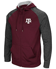 Colosseum Men's Texas A&M Aggies Magic Rays Full-Zip Hooded Sweatshirt