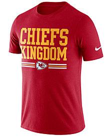 Nike Men's Kansas City Chiefs Dri-Fit Cotton Local T-Shirt