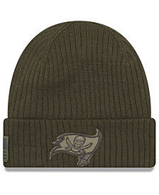 New Era Tampa Bay Buccaneers Salute To Service Cuff Knit Hat