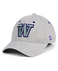 Zephyr Washington Huskies Tailored Flex Stretch Fitted Cap