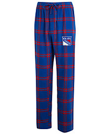 Concepts Sport Men's New York Rangers Homestretch Flannel Pajama Pants