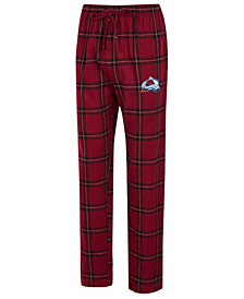 Concepts Sport Men's Colorado Avalanche Homestretch Flannel Pajama Pants