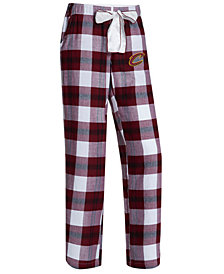Concepts Sport Women's Cleveland Cavaliers Headway Flannel Pajama Pants