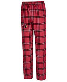 Concepts Sport Men's Arizona Cardinals Homestretch Flannel Sleep Pants