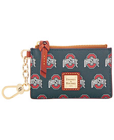 Dooney & Bourke Ohio State Buckeyes Zip Top Card Case