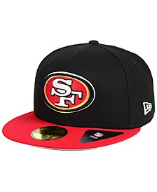 San Francisco 49ers Team Basic 59FIFTY Fitted Cap