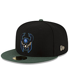 New Era Milwaukee Bucks Dark City Combo 59FIFTY FITTED Cap