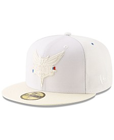 New Era Charlotte Hornets Deconstructed 59FIFTY Fitted Cap