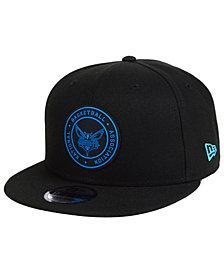 New Era Charlotte Hornets Circular 9FIFTY Snapback Cap