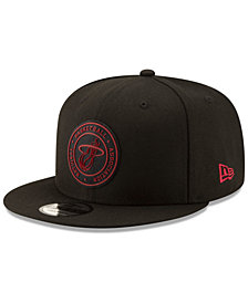 New Era Miami Heat Circular 9FIFTY Snapback Cap
