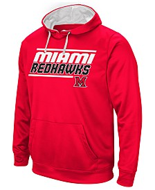 Colosseum Men's Miami (Ohio) Redhawks Stack Performance Hoodie