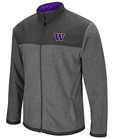 Men's Washington Huskies Full-Zip Fleece Jacket