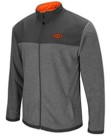 Colosseum Men's Oklahoma State Cowboys Full-Zip Fleece Jacket