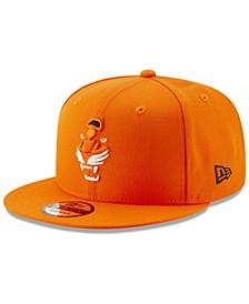 Cincinnati Bengals Logo Elements Collection 9FIFTY Snapback Cap