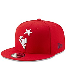 New England Patriots Logo Elements Collection 9FIFTY Snapback Cap