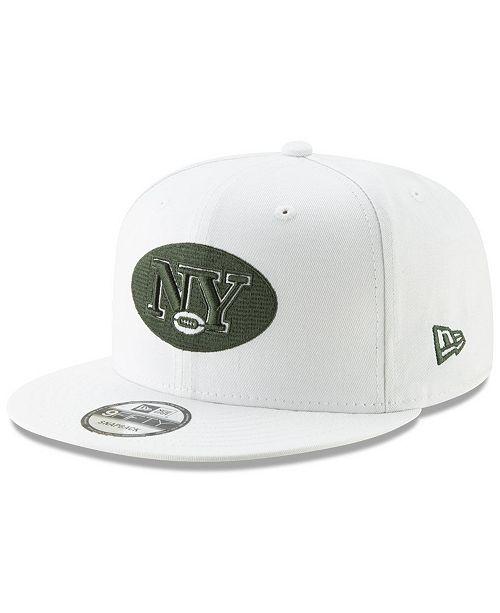 50c80746bfc36 New Era New York Jets Logo Elements Collection 9FIFTY Snapback Cap ...