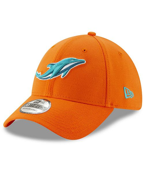 977cf232 Miami Dolphins Logo Elements Collection 39THIRTY Cap
