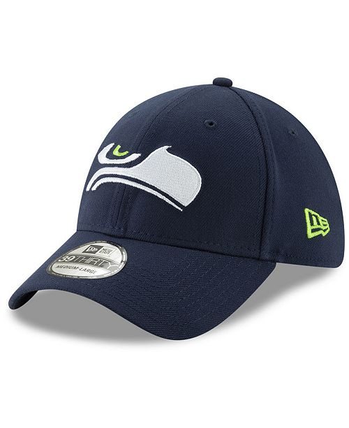 1a80297bd5e ... New Era Seattle Seahawks Logo Elements Collection 39THIRTY Cap ...