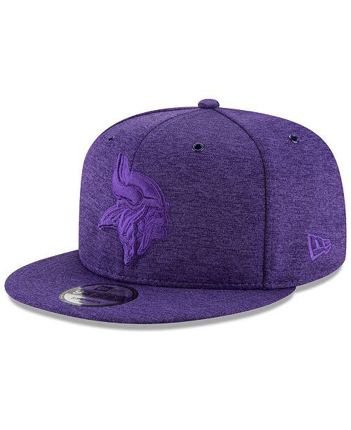 New Era Minnesota Vikings Tonal Heat 9FIFTY Snapback Cap - Sports ... 880495aea