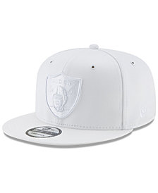 New Era Oakland Raiders Tonal Heat 9FIFTY Snapback Cap