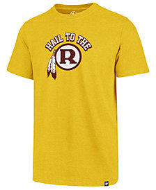 '47 Brand Men's Washington Redskins Regional Slogan Club T-Shirt