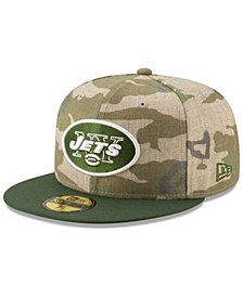 New Era New York Jets Vintage Camo 59FIFTY FITTED Cap