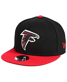 Boys' Atlanta Falcons Two Tone 9FIFTY Snapback Cap
