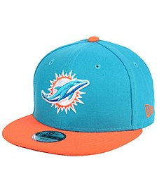 Boys' Miami Dolphins Two Tone 9FIFTY Snapback Cap
