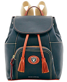 Dooney & Bourke Oakland Raiders Pebble Murphy Backpack