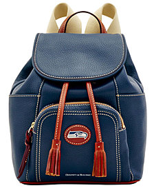 Dooney & Bourke Seattle Seahawks Pebble Murphy Backpack