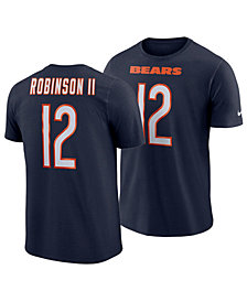 Nike Men's Allen Robinson Chicago Bears Pride Name and Number Wordmark T-Shirt