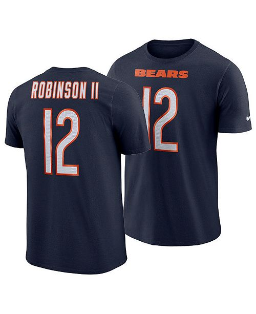 newest 39491 f3c1d Nike Men's Allen Robinson Chicago Bears Pride Name and ...