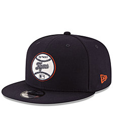 New Era Detroit Tigers Vintage Circle 9FIFTY Snapback Cap